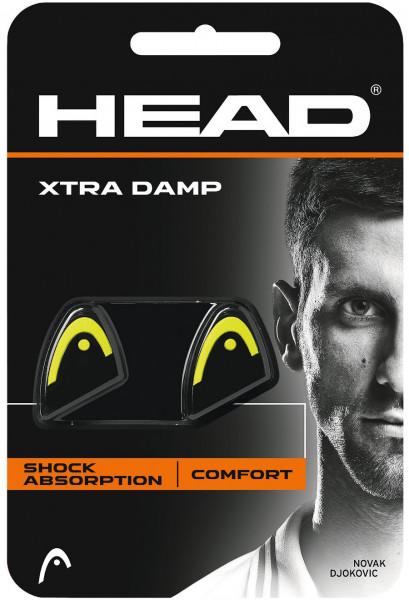 Vibration dampener Head Xtra Damp - black/yellow