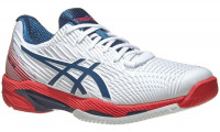 Męskie buty tenisowe Asics Solution Speed FF 2 - white/mako blue