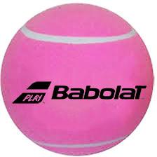 Ball for autographs Piłka Mini Gigant Babolat Midsize Jumbo Ball - pink