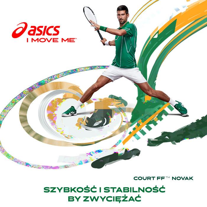 Asics - nowa kolekcja butów tenisowych