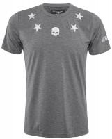 Męski T-Shirt Hydrogen Tech Stars T-Shirt - anthracite melange