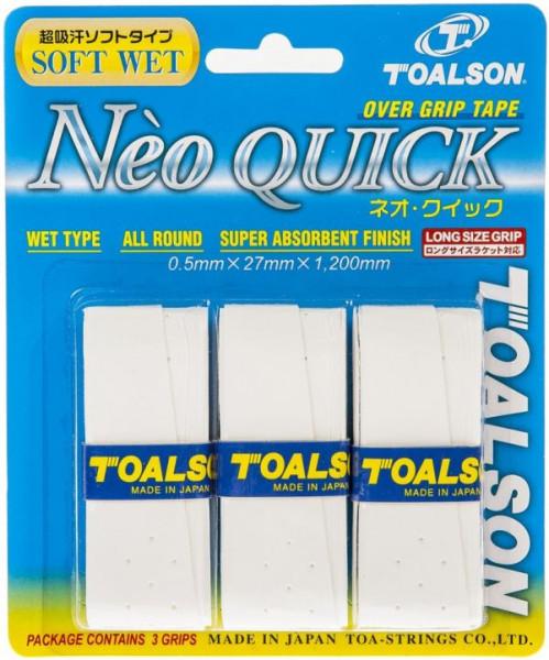Viršutinės koto apvijos Toalson Neo Quick (3 szt.) - white