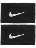 Frotka tenisowa Nike Dri-Fit Reveal Double-Wide Wristbands - black/cool grey/white