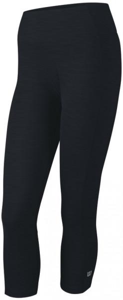 Damskie spodnie tenisowe Wilson Rush Tight II - coal