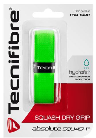 Owijka do squasha Tecnifibre Absolute Squash Perforated (1 szt.) - green