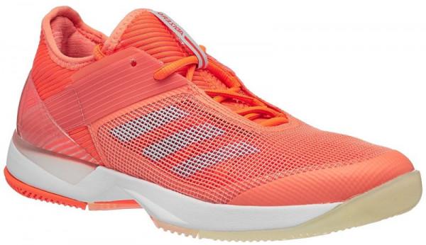 Sieviešu tenisa apavi Adidas Adizero Ubersonic 3 W - chalk coral/aero blue/hi-res orange