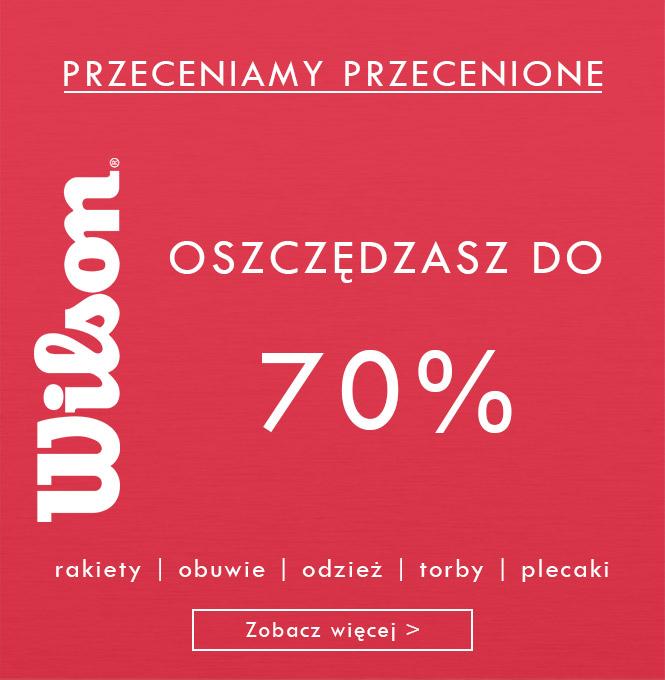 Wilson - Oszczędzasz do 70%