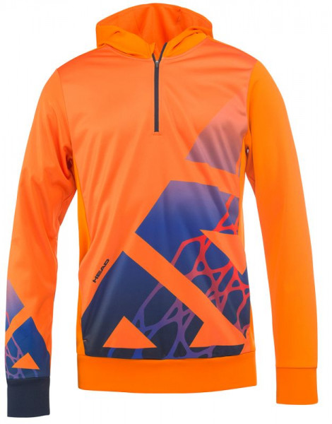 Bluza chłopięca Head Vision Radical Hoody B - orange/navy