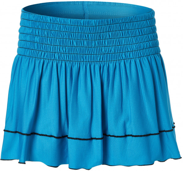 Tenisa svārki meitenēm Lucky in Love Square Are You? Smocked Skirt Girls - turquoise
