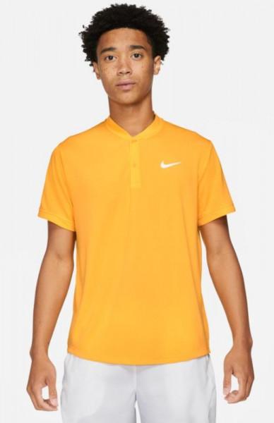 Meeste tennisepolo Nike Court Dri-Fit Polo Blade - university gold/white