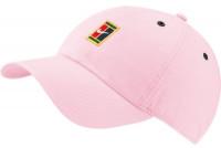 Czapka tenisowa Nike H86 Court Logo Cap - pink foam