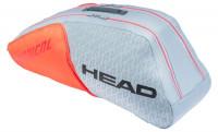 Teniso krepšys Head Radical 6R Combi - grey/orange