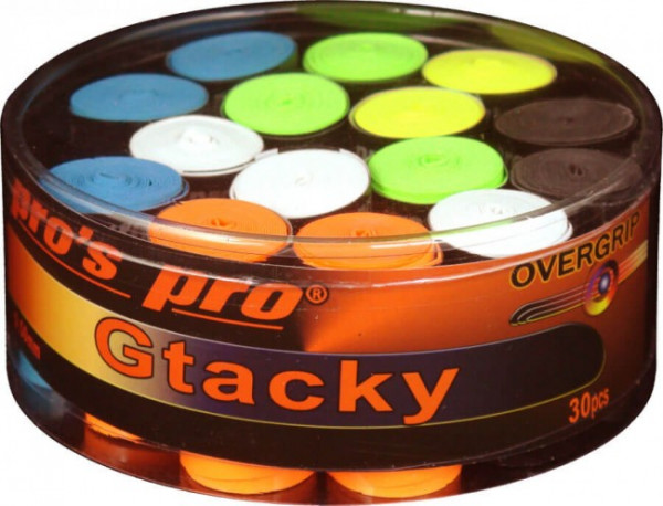 Owijki tenisowe Pro's Pro G Tacky (30 szt.) - color