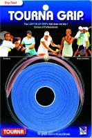 Owijki tenisowe Tourna Grip Dry Feel (10 szt.) - blue