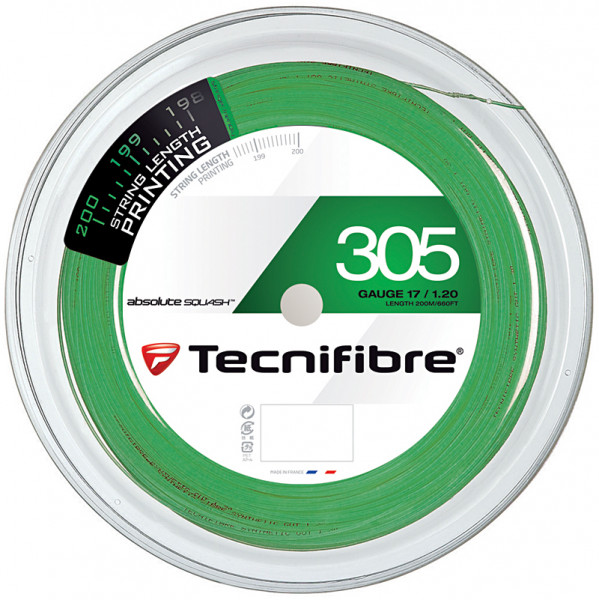 Skvošo stygos Tecnifibre 305 (200 m) - green