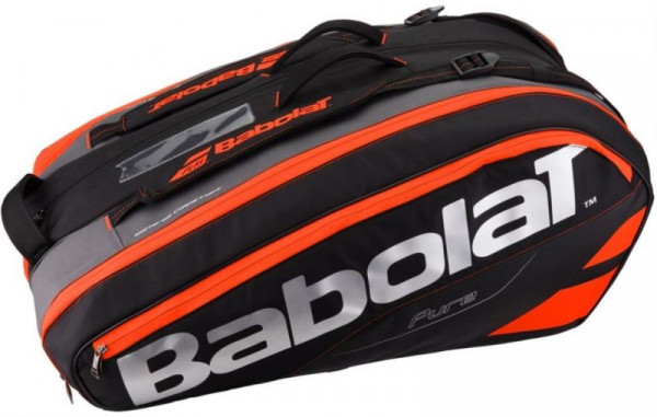 Babolat Pure Strike x12 - black/fluo red