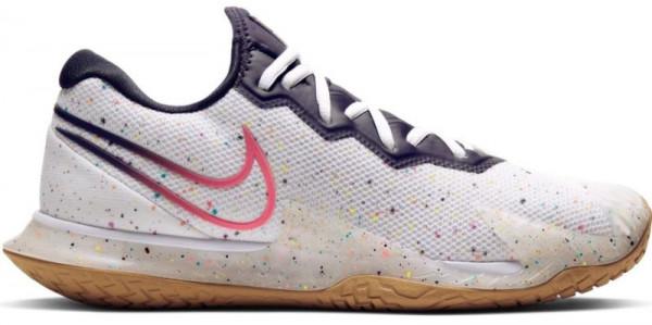Męskie buty tenisowe Nike Air Zoom Vapor Cage 4 - white/laser crimson/gridiron