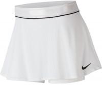 Damska spódniczka tenisowa Nike Court Dry Flounce Skirt - white/black
