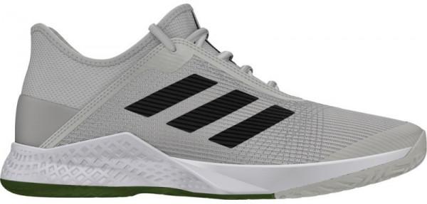 Męskie buty tenisowe Adidas Adizero Club grey one F17legend earthtech olive