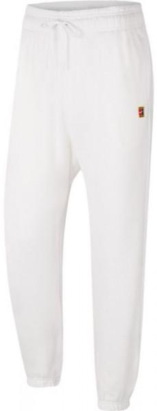 Nike Court Fleece Pant Heritage - white