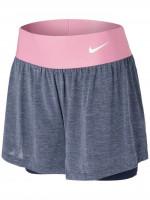 Nike Court Dri-Fit Advantage Short W - obsidian/obsidian/elemental pink/white
