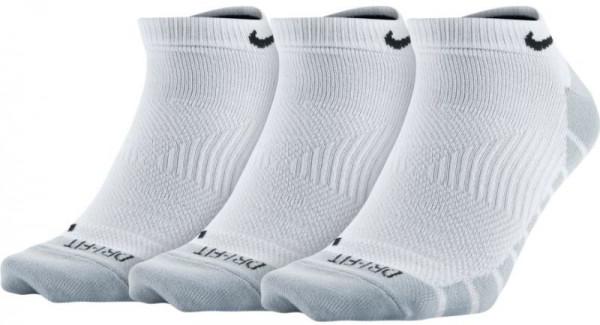 Nike Dry Lightweight No Show - 3 pary/white