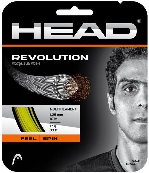 Naciąg do squasha Head Revolution (10 m) - yellow