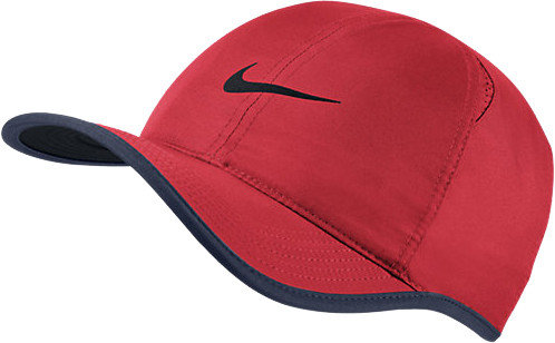 Nike U Aerobill Feather Light Cap - action red