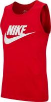Teniso marškinėliai vyrams Nike Sportswear Tank Icon Futura M - university red/white