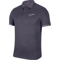 Męskie polo tenisowe Nike Court Breathe Advantage Polo MB NT - gridiron/off noir