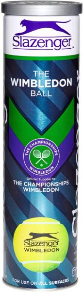 Piłki tenisowe Slazenger The Wimbledon Ball 4 szt.
