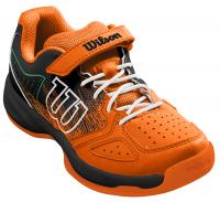 Juniorskie buty tenisowe Wilson Kaos Kid - shocking orange/black/amazon