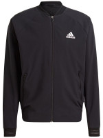 Muška sportski pulover Adidas Stretch Woven Primeblue Jacket M - black/white