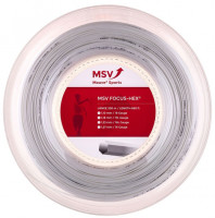 Tennisekeeled MSV Focus Hex (200 m) - white