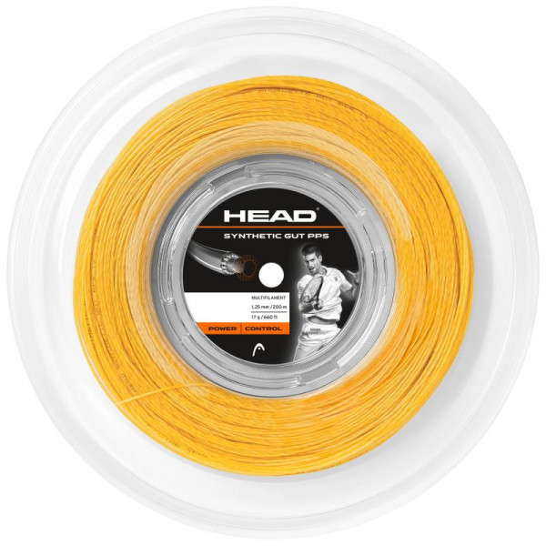 Head Synthetic Gut PPS (200 m) - orange