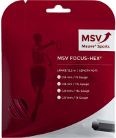 Naciąg tenisowy MSV Focus Hex (12 m) - red