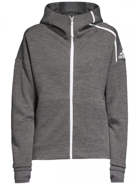 Tenisa džemperis sievietēm Adidas ZNE Hoody W - dark grey heather