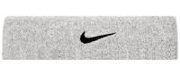 Nike Swoosh Headband - matte silver/black