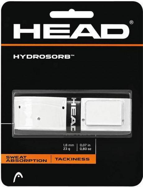 Owijki tenisowe bazowe Head Hydrosorb (1 szt.) - white