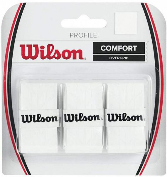 Viršutinės koto apvijos Wilson Profile (3 vnt.) - white