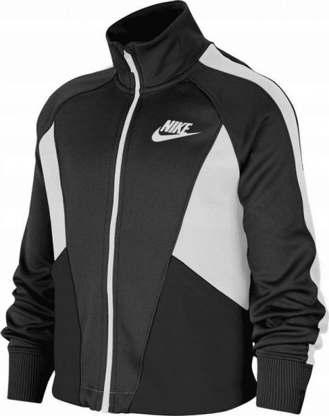 Bluza dziewczęca Nike Sportswear Heritage Full-Zip Jacket G - black