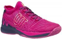 Damskie buty tenisowe Wilson Kaos 2.0 SFT W - very berry/evening blue/sunny lime