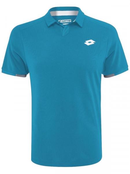 Męskie polo tenisowe Lotto Squadra Polo PL - mosaic blue