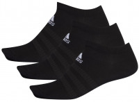 Skarpety tenisowe Adidas Light No Show 3PP - black/black/black