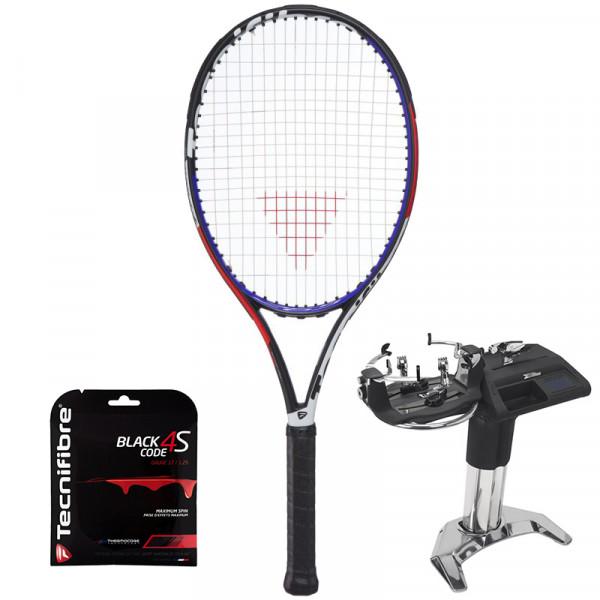 Tenis reket Tecnifibre TFight 265 XTC + žica + usluga špananja