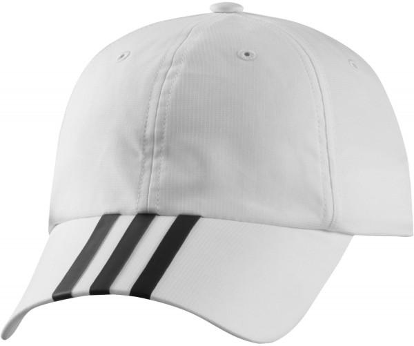 Adidas Climalite 3S Hat - white/black