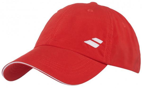 Babolat Basic Logo Cap Junior - fiery red