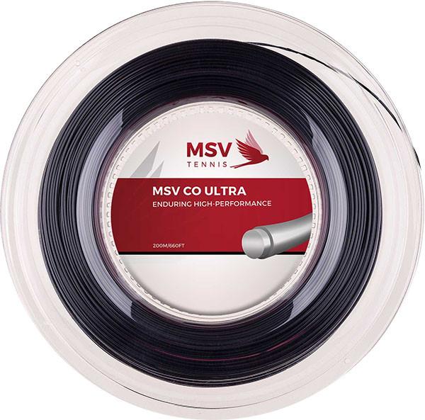 Teniska žica MSV Co Ultra (200 m) - black