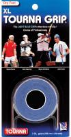 Owijki tenisowe Tourna Grip XL Dry Feel (3 szt.) - blue