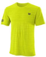 Muška majica Wilson Kaos Rapide Seamless Crew M - safety yellow